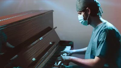 Doctor Playing Piano
