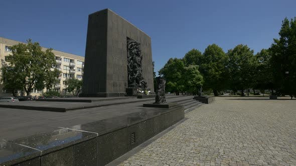 The Monument to the Ghetto Heroes