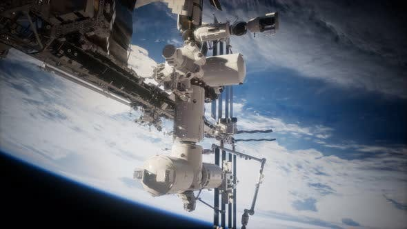 Thumbnail for Earth and Outer Space Station Iss