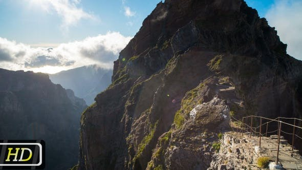 Famous Place from Vereda do Areeiro trail on Madeira