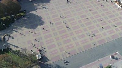 Aerial of Theatre Square