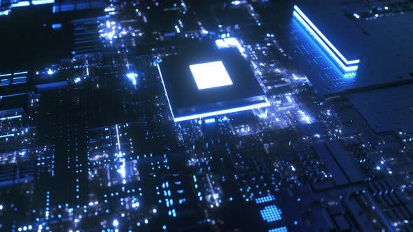 Thumbnail for Microchip on Motherboard