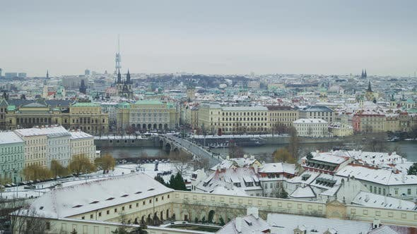 Thumbnail for Cityscape of Prague