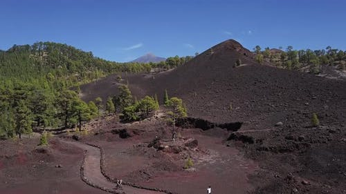 Aerial View of Teide Caldera, Tenerife