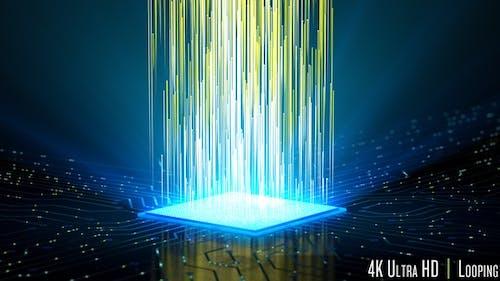 4K CPU Microchip Power and Energy Loop