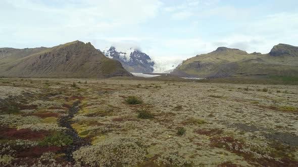 Lovely Icelandic Nature Landscape