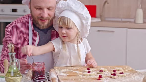 Thumbnail for Cooking Dessert with Daughter