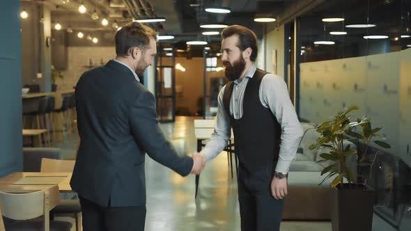 Successful Negotiations and Handshakes