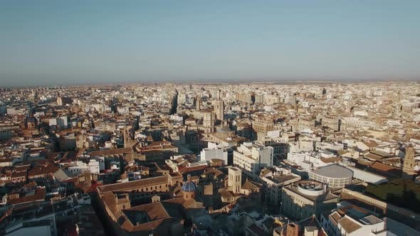 Thumbnail for Aerial Shot of Valencia, Spain