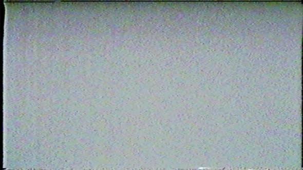 Broken VHS video noise Background