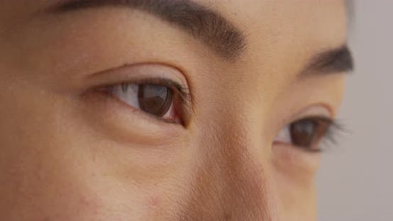 Thumbnail for Close up of Japanese woman looking away