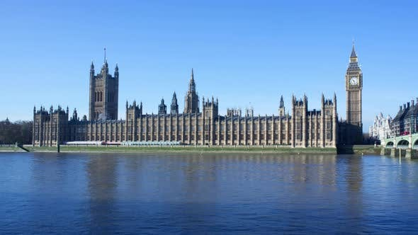 Timelapse of the Houses of Parliament