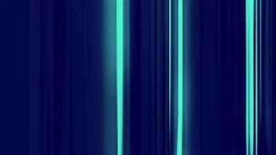 Blue Glow Lines