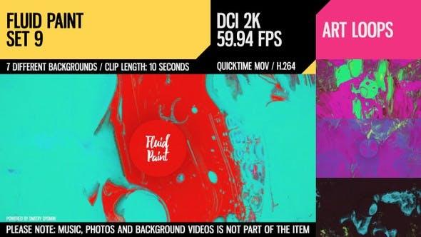 Thumbnail for Fluid Paint (2K Set 9)