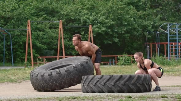 Thumbnail for Exercise with Tire