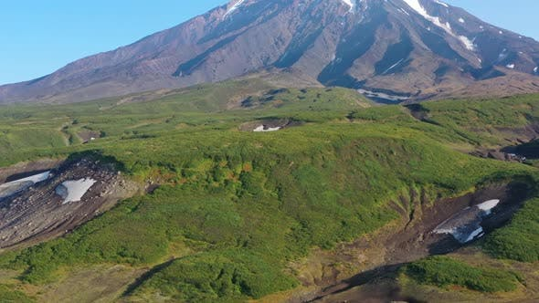 Thumbnail for Koryaksky Volcano on Kamchatka Peninsula