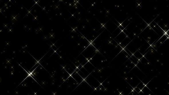 Leuchtende Große Stars