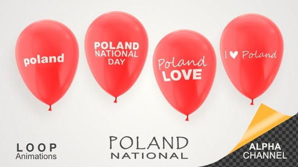 Thumbnail for Poland National Day Celebration Balloons