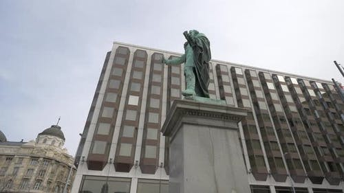 Statue of Baron Jozsef Eotvos