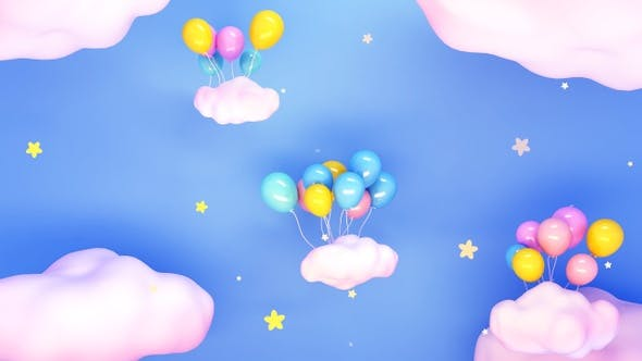 Thumbnail for Balloons And Stars
