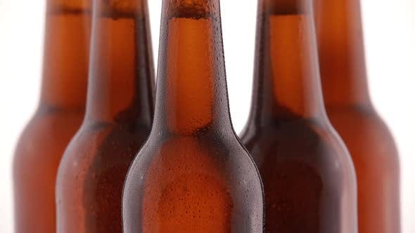 Thumbnail for Bottle of Beer with Drops Isolated on White Background