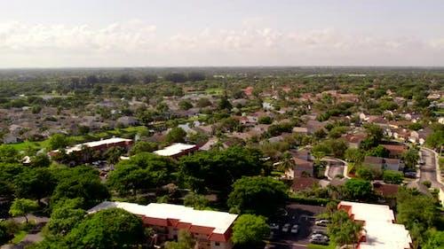 Aerial Video Neighborhoods Weston Sunrise Fl Usa