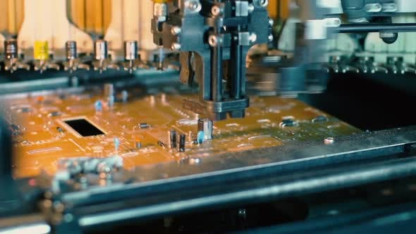 Automated Assembly of Printed Circuit Boards.