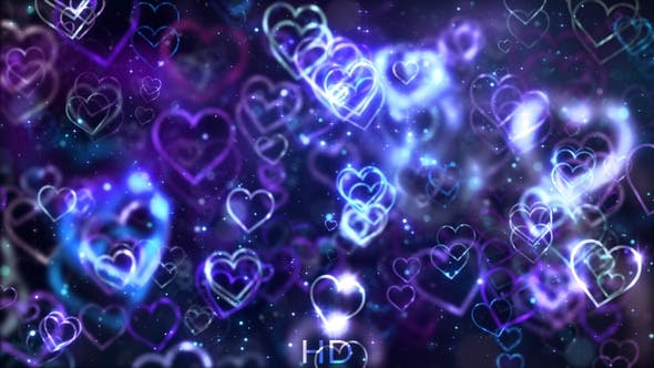 Thumbnail for Love Background Blue