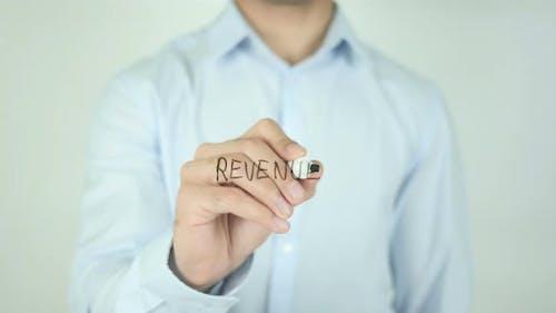 Revenue, Writing On Screen