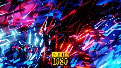 Sparkling Neon Background HD