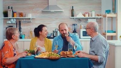 Extended Family Dinner