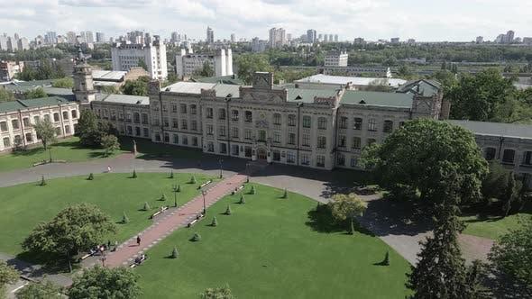 Kyiv. Ukraine. Kyiv Polytechnic Institute. Aerial View.