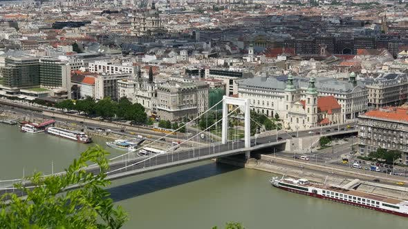 Thumbnail for Elisabeth Bridge of Budapest from Gellért Hill