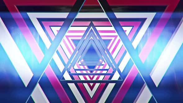 Dreieck rot 01 4k