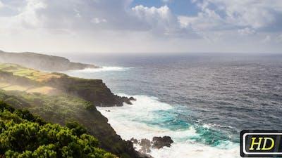 Rocky Coast of Azores