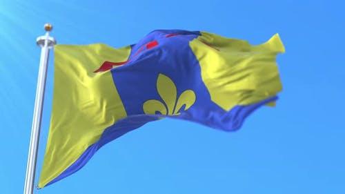 Flag of Bouches-du-Rhone, France