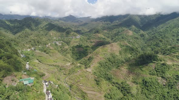 Thumbnail for Rice Terraces in the Mountains. Philippines, Batad, Banaue.