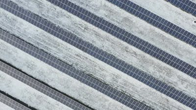 Solar Panels Power Farm