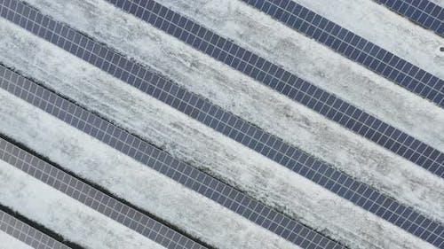 Solar Panels Power Farm