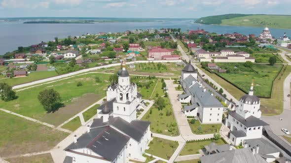Thumbnail for Assumption Cathedral and Monastery of the Town-island of Sviyazhsk, Russia