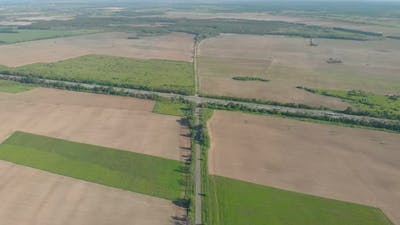 Country Highway Aerial