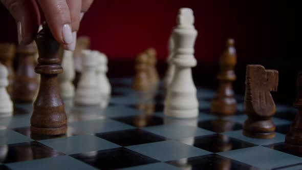 Thumbnail for Checkmate On A Chess Game 47
