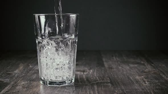 Thumbnail for Jet of Clean Water Flows Into the Glass