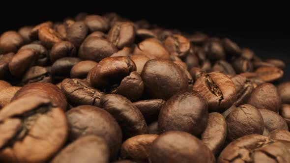 Thumbnail for Aromatic Coffee Bean. Close-up.