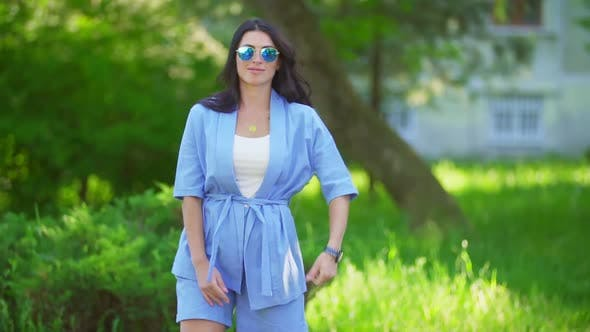 Thumbnail for Girl in Blue Suit
