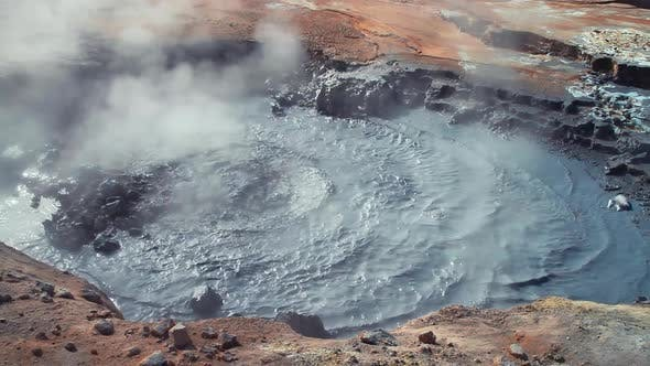 Thumbnail for Iceland Volcanic Field Fumarole Hot Spring