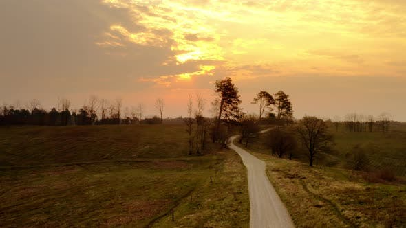 Thumbnail for The Path Going to the Sunset