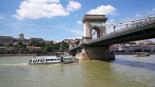 The Széchenyi Chain Bridge