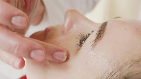 Thumbnail for Spa Facial Massage in Beauty Spa Salon. Beauty Treatments. Body Care, Skin Care, Wellness, Wellbeing