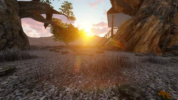 Thumbnail for Sunset in the park